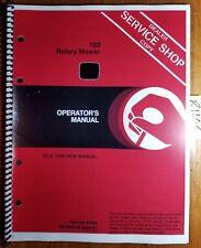 John Deere 160 Rotary Mower Sn 488001-525000 for 650 750 Tractor Operator Manual