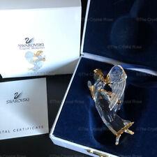 RARE Retired Swarovski Crystal 2000 Christmas Angel Ornament 243453 Boxed Mint