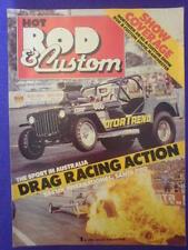 HOT ROD & CUSTOM - DRAG RACING - July 1980 v3 #2