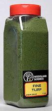 NEW Woodland Scenics Turf Fine Green Grass 32 oz T1345