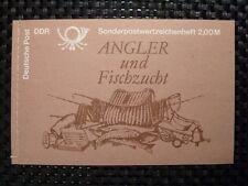 DDR MH 9 w 1 ANGLER glänzender Gummi tadellos ** FISCHE FORELLE m442