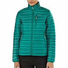 NWT Womens Emerald Green Patagonia Ultralight  down Jacket Size Large
