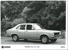 Chrysler Sunbeam 1250 De Luxe Original Press Photograph #R66378 1977 1978