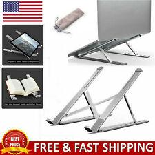 Foldable Notebook Support Laptop Stand Book Bracket Adjustable Cooling Holder US