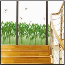 Wild Green Reeds Grass Dragonfly Wall Sticker Decal Vinyl Art Home Decor