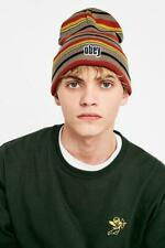URBAN OUTFITTERS Obey Highland Stripe Beanie RRP £25 new with tag #46