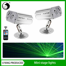 2Pcs Mini Remote Controlled Laser Projector Dj Stage Light for Disco Bar Party