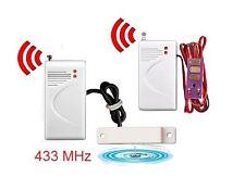 Détecteur alarme inondation 433Mhz Alarme GSM / RTC