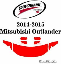 3M Scotchgard Paint Protection Film Pre-Cut Hood 2014 2015 Mitsubishi Outlander