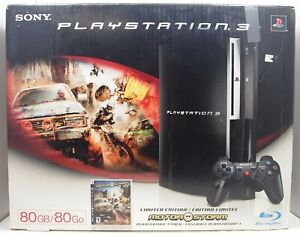 Sony PlayStation PS3 Fat 80GB Motor Storm Pack Authentic Console BOX ONLY