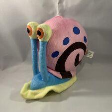 SpongeBob SquarePants Gary The Snail Plush Toy Doll Play By Play Spain 2012 Rare