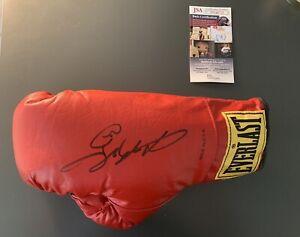 Sugar Ray Leonard Autographed Boxing Glove JSA COA