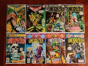 DC Comics The Unexpected #104 109 121 124 175 190 192 193 Comic 8 Book Lot