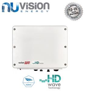 SolarEdge 2200W Single Phase HD Wave Inverter NO DISPLAY 12 Year Warranty