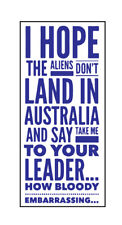Funny Australian Politics sticker Bumper sticker
