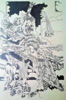 Lithography by Pablo Labañino. Ante Otro Problema De Velocidad ,1972.