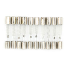 10Pcs 6 x 40mm Axial Glass 900mA 0.9A 5KV Fuse Tubes for Microwave Oven EZ