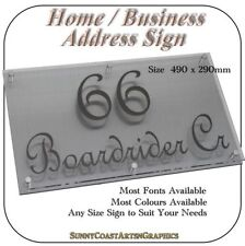 Acrylic Decorative Outdoor Signs/Plaques