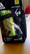 Adidas Soccer Shield/Ankle Protection Ghost Replique Small Neon Green #C1140-B