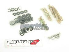 Skunk2 Racing Low-Profile Engine Valve Cover Washer Hardware Black B-Series VTEC