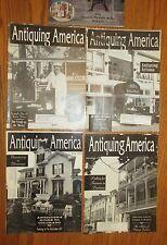 5 ANTIQUING AMERICA Magazines ~ Sports, Fashion & Entertainment Memorabilia Etc.