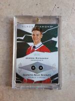 2018-19 Jesperi Kotkaniemi Upper Deck Black Diamond RC Double Relic Rookie 19/99