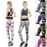 Damen Legging Yoga Fitness Leggins Jogging Tummy Control Sporthose Trainingshose