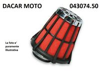 043074.50 RED FILTER E5  MALOSSI 32x1,25  15 21 NERO Dell'Orto PHBH   26 30