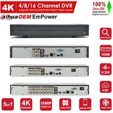 Dahua Oem 4Ch 8Ch 16Ch 4K Uhd Dvr Xvr Cvi/Tvi/Ahd/Cvbs/Ip Digital Video Recorder
