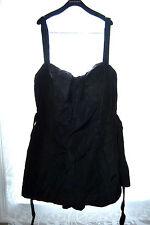 RARE Vintage 1940s Black  Lee Swimplay Bathing Suit size 50. UNWORN!!!!