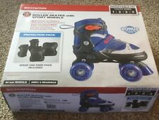 New Schwann Adjustable Roller Skates Youth 1 to 4. No Wrist & Knee Pads Incl.