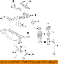 VW VOLKSWAGEN OEM 15-16 Golf Rear-Wheel Hub & Bearing Assy 5QM598611
