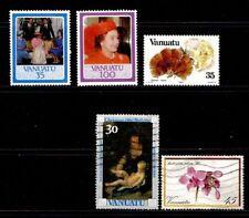 Postage Vanuatu Stamps (1980-Now)