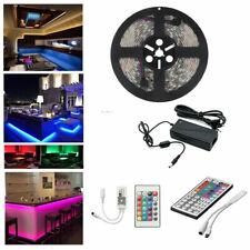 5m-30m Set SMD 5050 LED Strip Streifen Band Stripe Lichterkette RGB wasserdicht