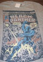 VINTAGE STYLE THE BLACK PANTHER Marvel Comics T-Shirt SMALL NEW w/ tag