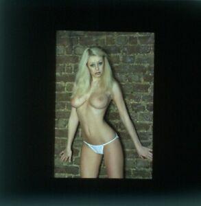 1 Transparency 35MM Bikini Lingerie Sexy Girl Slide DIA 101925