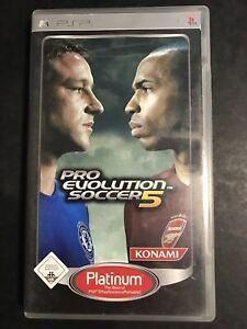 Pro Evolution Soccer 5 [Platinum] Sony PSP Zustand gut @457