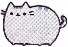 "PUSHEEN the Cat Iron On Patch 3"" x 2"" >NEW<"