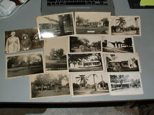 Vintage LOT - FLORIDA PICTURES, PHOTOS FROM 1940's, 50's - Mostly Houses, Street