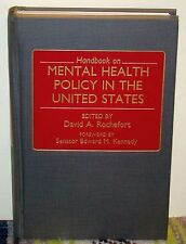Handbook on Mental Health Policy in the United States (1989, Hardcover)