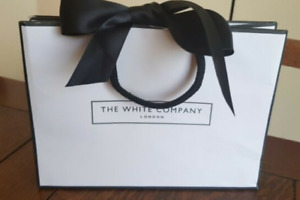 NEW THE WHITE COMPANY SMALL GIFT BAG AND TISSUE *23cm x 17cm*
