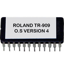 Roland TR-909 Eprom OS Upgrade V 4.0 Latest OS Revision Fix Timing Issue Tr909