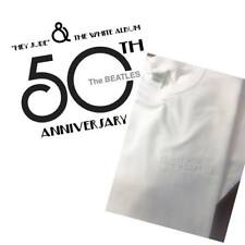 THE BEATLES WHITE ALBUM 50TH ANNIVERSARY EMBROIDERED T SHIRT  S M L XL XXL