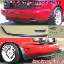 RS Style Rear Bumper Lip (Urethane) Fits 90-97 Mazda Miata