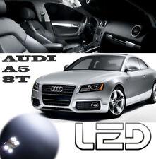 AUDI A5 coupe Pack 12 Ampoules LED Blanc Boite gants miroir Coffre plafonnier