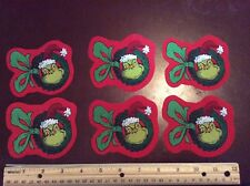 Style#8.  Dr. Seuss The Grinch Who Stole Christmas Fabric Iron On Appliques