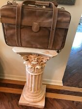 """RARE Hartmann USA Classic Vintage Bag Luggage Suede Carry-on 19"""" Lx 12""""Hx8""""D"""
