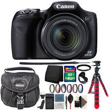 Canon PowerShot SX530 HS 16MP Wi-Fi Digital Camera + Extra Battery Accessory Kit