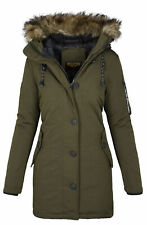 Khujo Mary Damen Winter Jacke Parka Winterjacke warm gefüttert B510 NEU