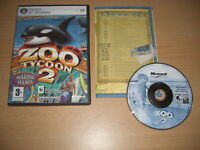 ZOO TYCOON 2 - MARINE MANIA Add-On Expansion Pack Pc Cd Rom Fast Dispatch